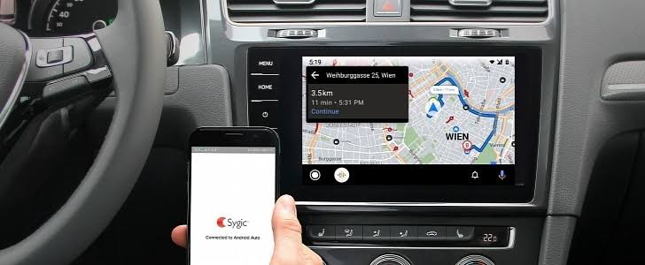 The First Major Google Maps Alternative Has Been Launched On Android Auto