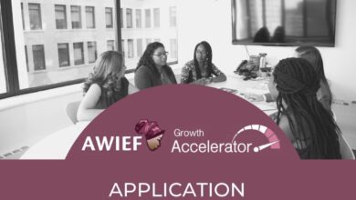 The AWIEF Growth Accelerator Calls For Female Entrepreneurs To Apply For Its Programme