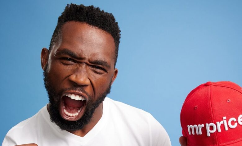 South African Rugby Player Siya Kolisi Partners With Mr Price!