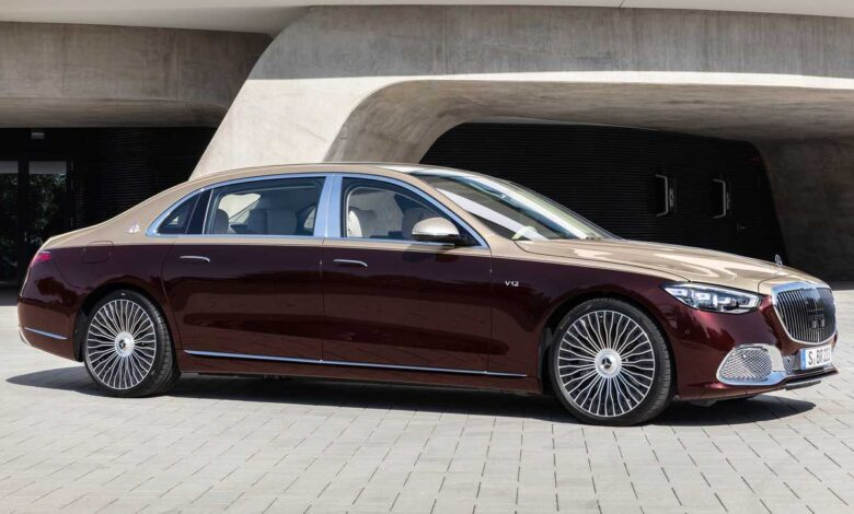 This Is The New 2022 Mercedes Maybach S 680 4Matic Sedan