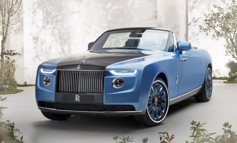 This Is The Rolls Royce Boat Tail And It Is The Most Expensive Car In The World!