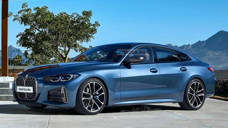 This Is The New 2022 BMW 4-series Gran Coupe!