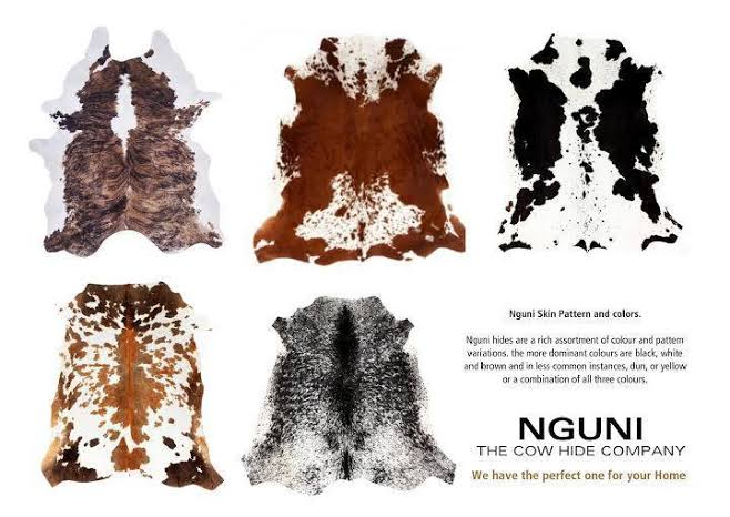 How The Nguni Brand Is Providing Nguni Culture Inspired Cowhides