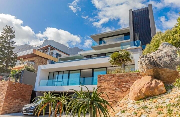 This Contemporary Architectural Marvel Is Selling R 65 000 000!