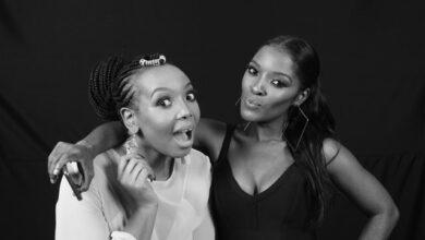 South African Media Personality Thembisa Mdoda-Nxumalo Congratulates Award Winning Make-Up Artist Nomsa Madida On Her New Business Venture