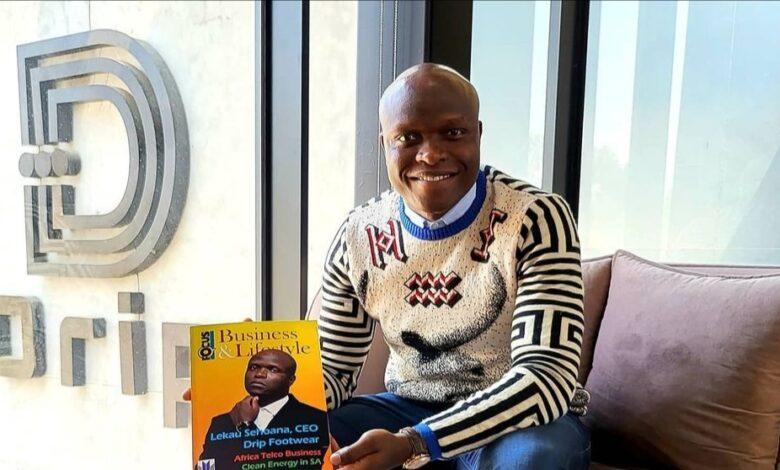 Drip Footwear Founder Lekau Sehoana Highlights The Reason Why He Bought Black Eagles Football Club