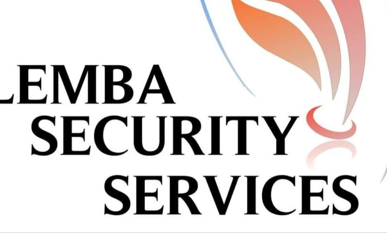 How Security Systems Start-Up Lemba Security Services Seeks To Offer Expertise Security Solutions