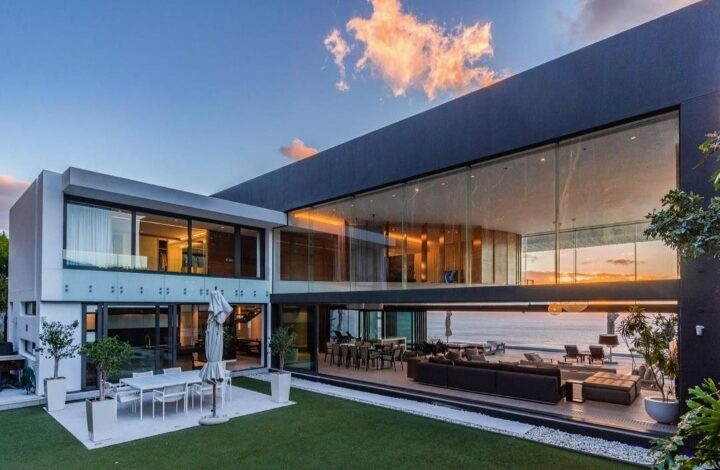 This Home Known As The Pentagon Is Selling For R 172 500 000!