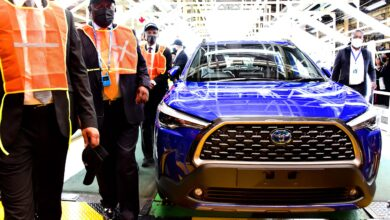 President Cyril Ramaphosa Launches The First Toyota Hybrid Car In South Africa