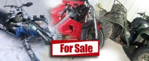 Cash for Junk Motorcycles