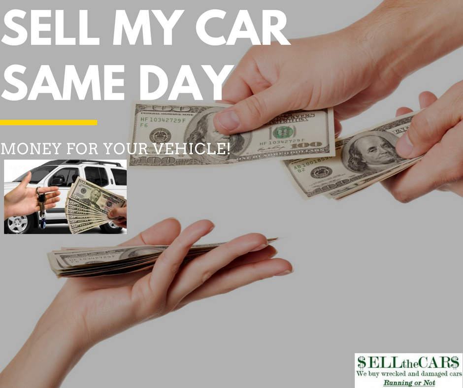 Sell My Car Same Day Got Cash with in 1 Hours   wrecked car - STC, USA