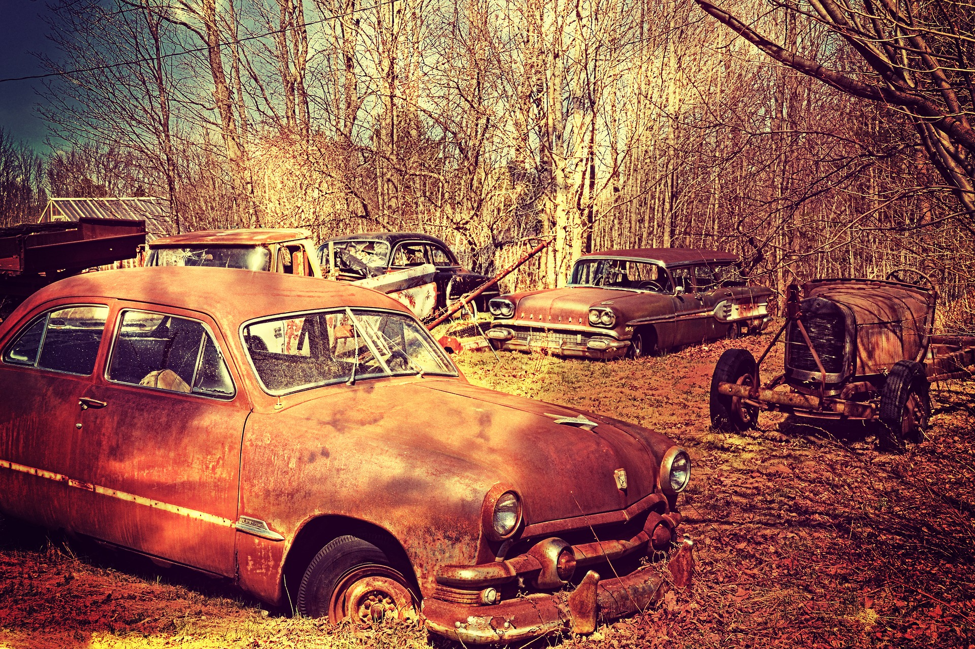Make the Most out of Junk Car Using Sell the Cars - Salvage Yard