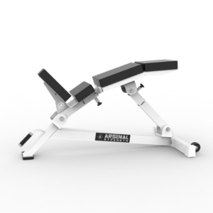 Alpha Adjustable Lumbar Incline Bench
