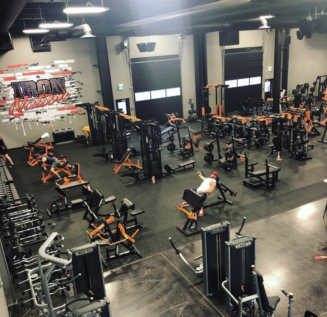 Iron Nation Fitness Gym Design by Arsenal Strength