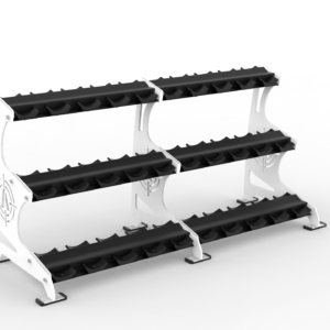Alpha 3 Tier Prostyle DB Rack - Arsenal Strength