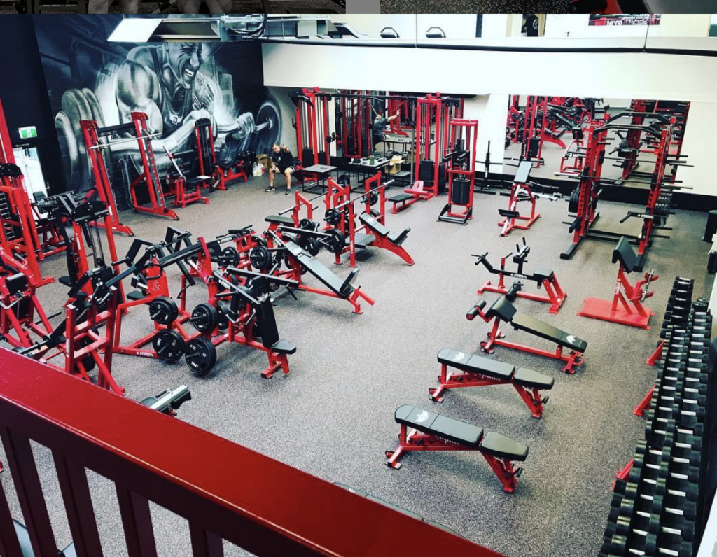 NZ Muscle Gym Design by Arsenal Strength