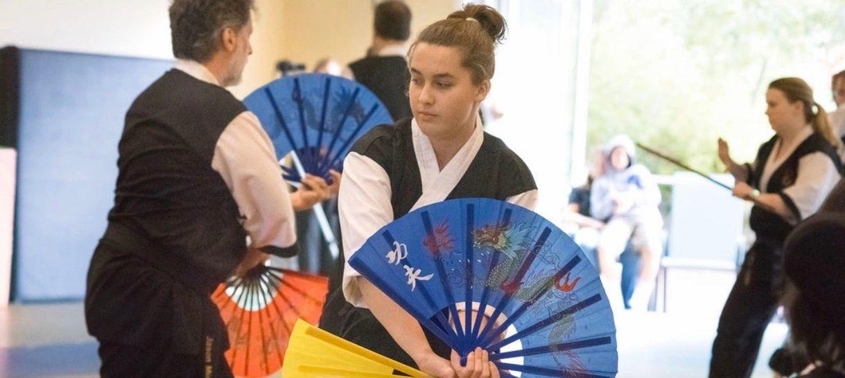 Enso Center Tai Chi 2 - Fan Form