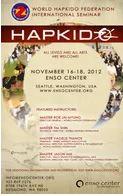 World Hapkido Federation International Seminar 2012