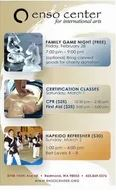 Family Game Night, CPR Certification and Hapkido Refresher