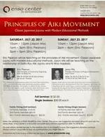 Principles of Aiki Movement Seminar with Sensei Pearson