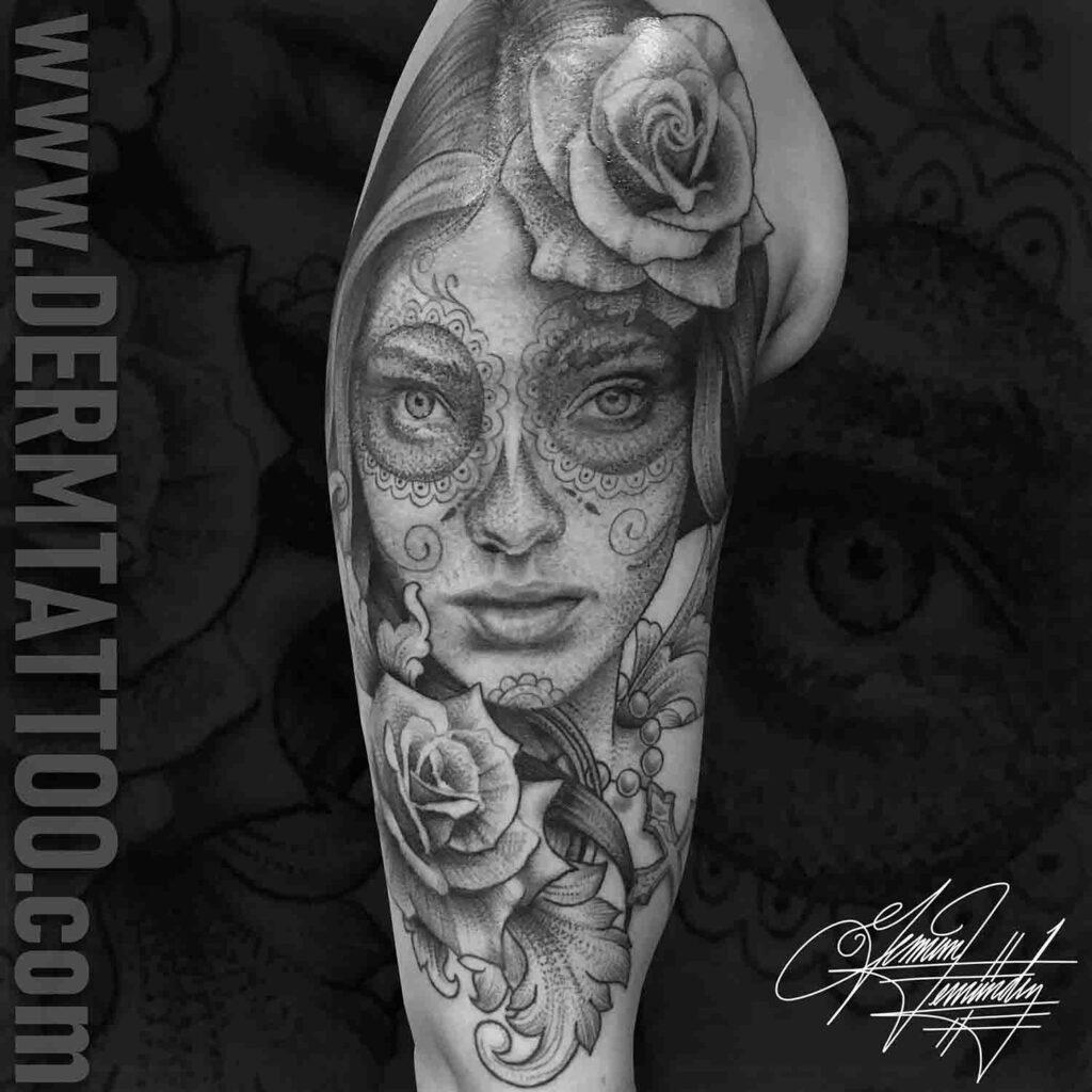German Fernandez – Tattoo Artist in Littleton, Co Specializing in black and grey realism.