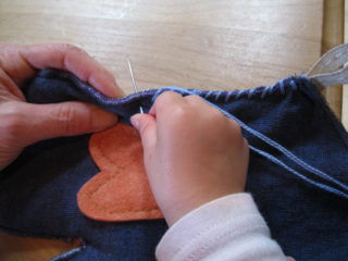 Crafting at Heart in Hand Preschool