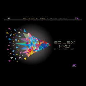 Edius X Pro Upgrade(Pro 9/WG 9)