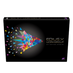 Edius X Workgroup (Full & Commercial Version)