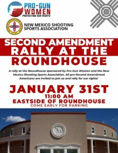 Second Amendment Rally at the Roundhouse @ New Mexico State Capitol (Eastside) | Santa Fe | New Mexico | United States