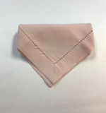 Blush Hemstitch Napkin