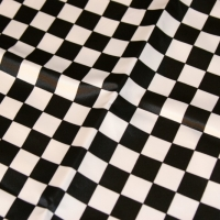 "small-black-and-white-checkers ""napkins only"""