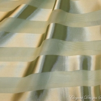 Sheer Sage Striped