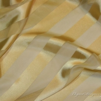 Sheer Gold Striped