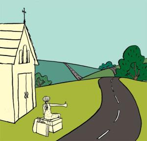 leaving-home cartoon