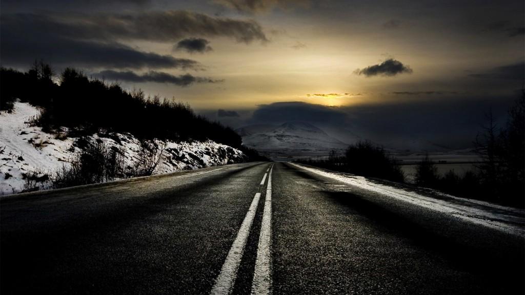 Winters Tale Dark Road