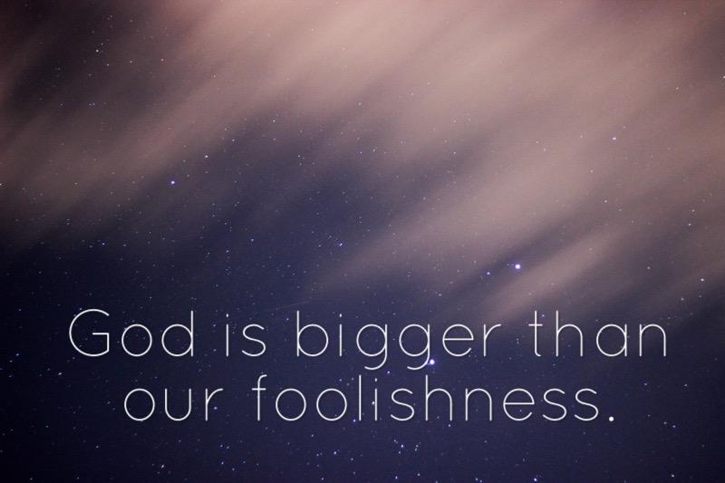 Sin God Bigger