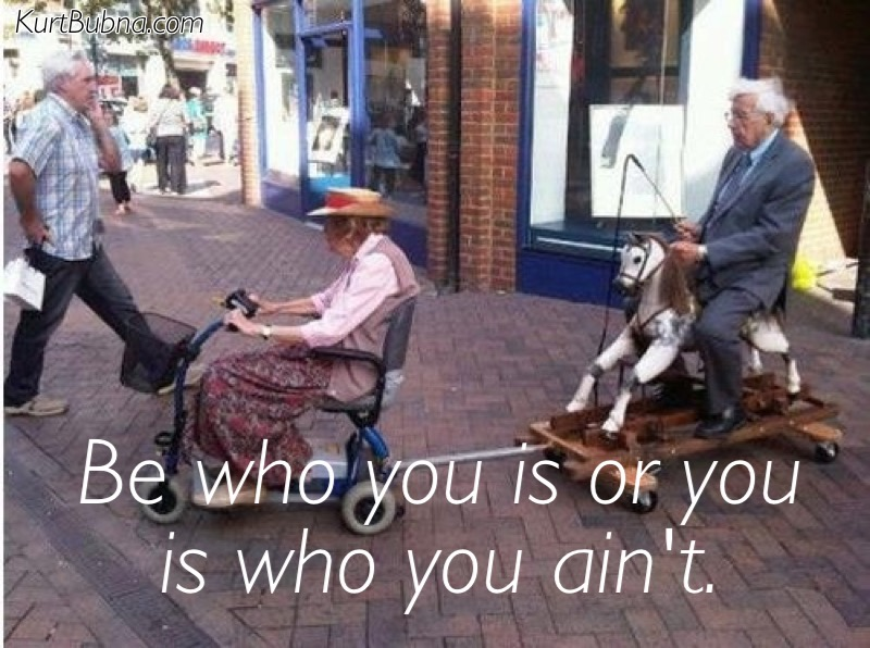 Grand Be Who You Is