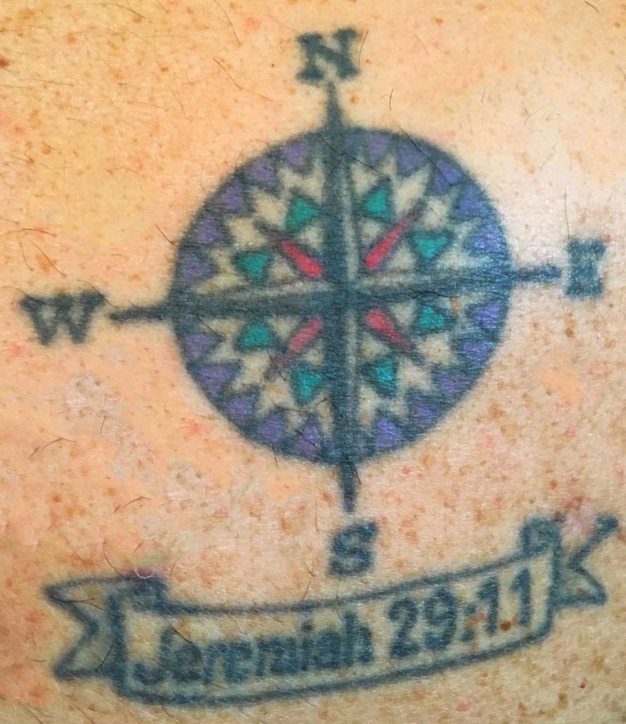 Tattoo Mine Compass Rose