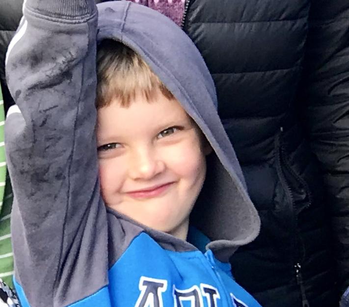 Elijah Smiling