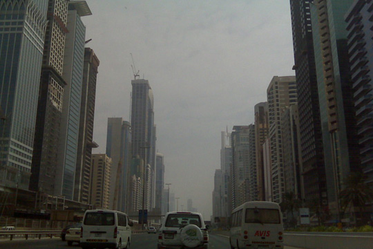 Dubai - SZR and the Highway to the world's best of everything