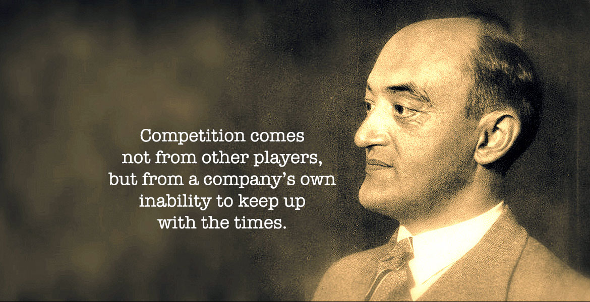 The Schumpeter Warning