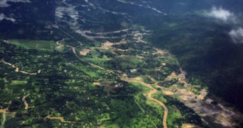 Manipur from the air