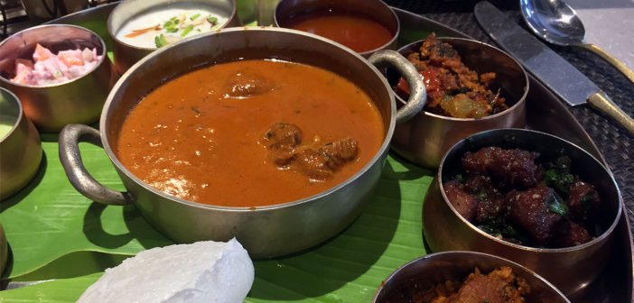The Delicious Mutton Thali at Sanadige