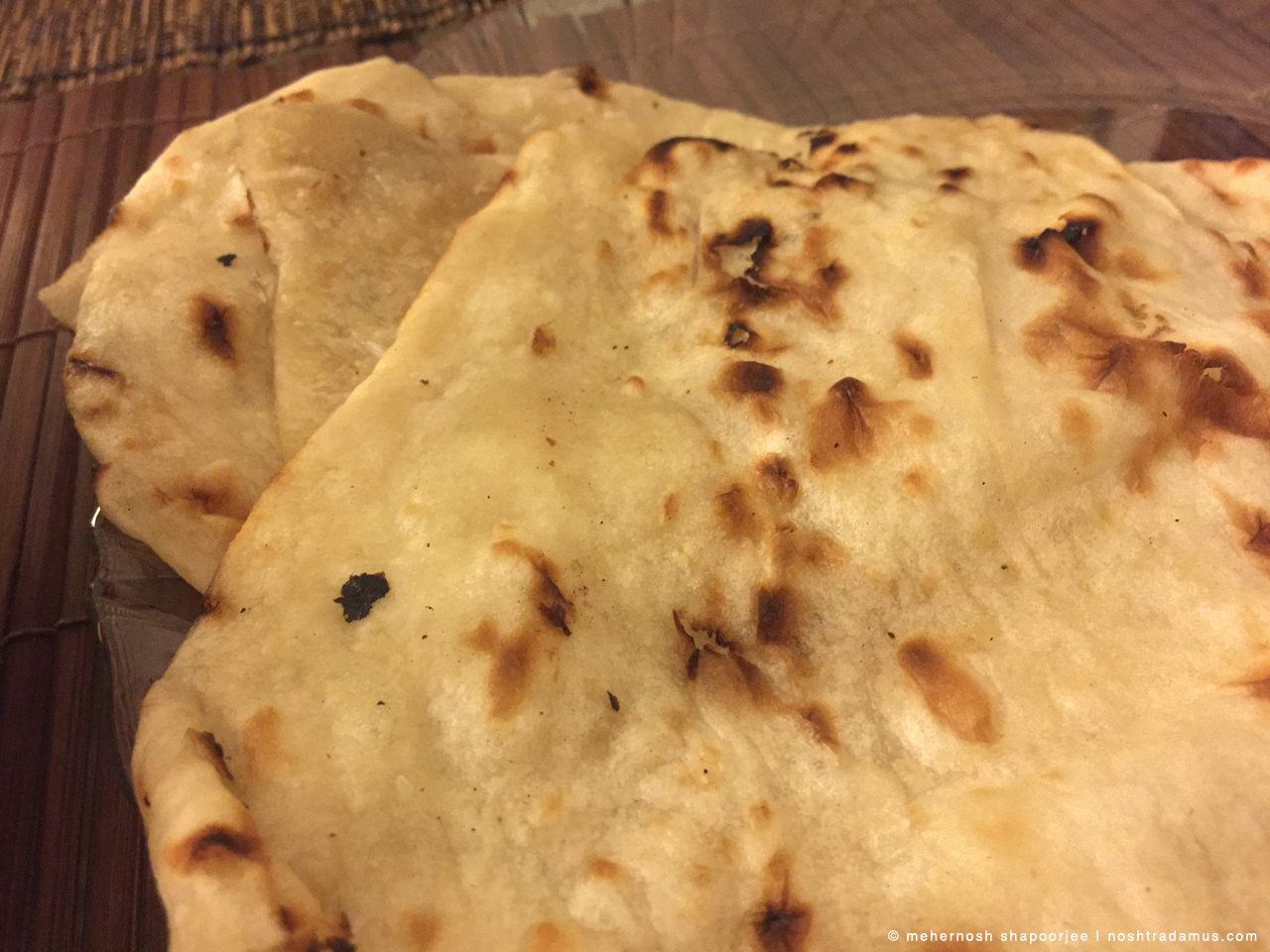 Butter Naan, from Dana Choga