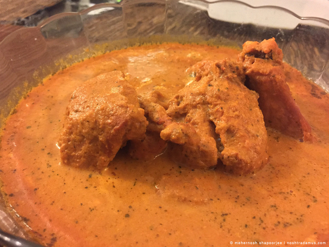 Butter Chicken, from Dana Choga