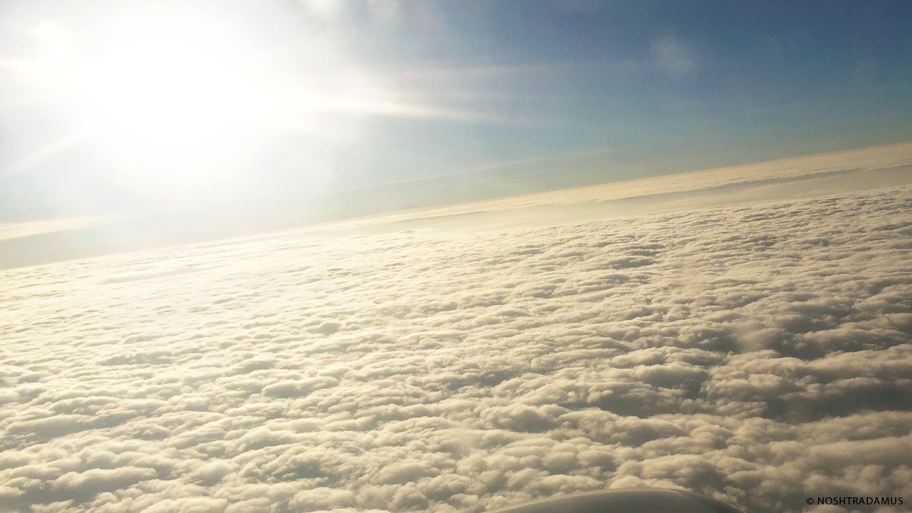 Flying Carpet, made of Clouds