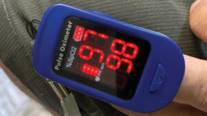 Oximeter to check oxygen levels during Covid-19 A