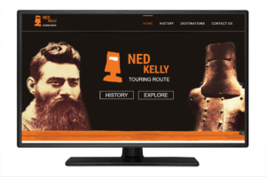 Ned Kelly Touring Route
