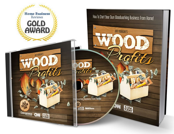 Jim Morgan home-based woodworking business with limited funds Target Woodworking