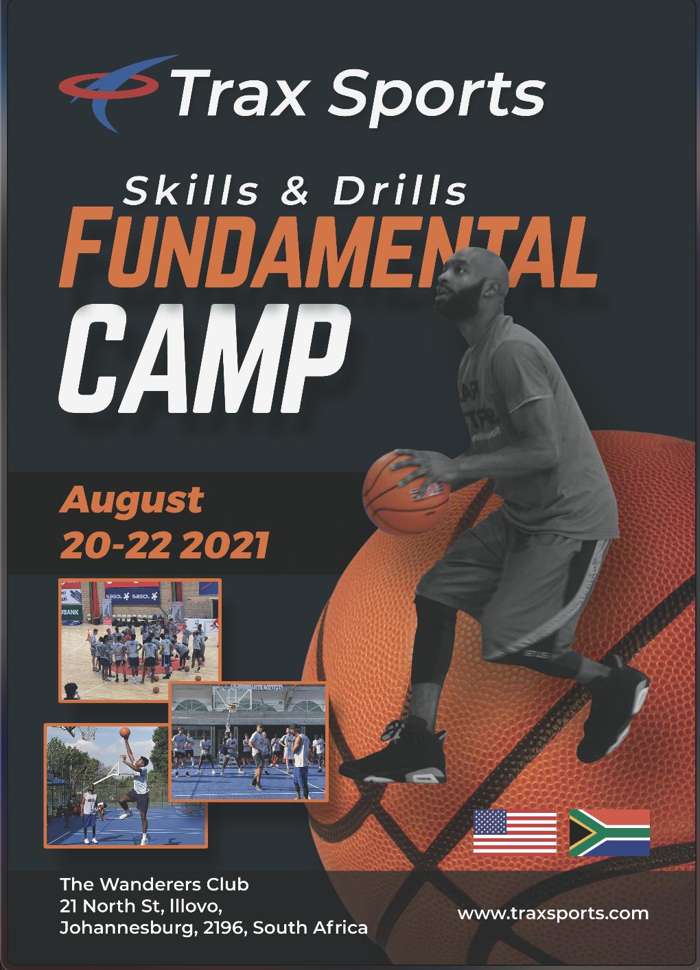 Skills and Drills Basketball Camp South Africa - Trax Sport | Fundamentals Camp